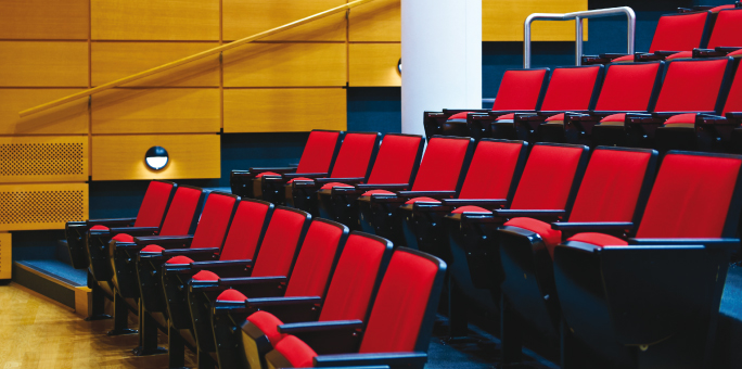 Lecture Theatre 2  chairs