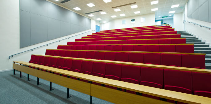 Wolfson Lecture Theatre - Inside from the stage