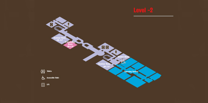 Floor plan level -2