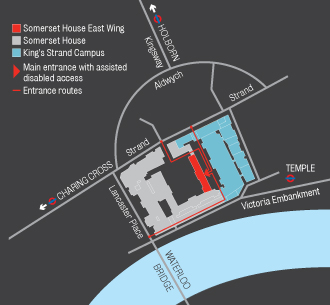 Somerset House Map Learning Centre | King's Venues