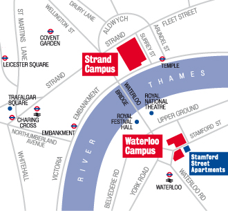 Waterloo Campus Map